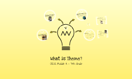 Copy of What is Theme?
