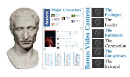 Overview of Acts I-III Julius Caesar