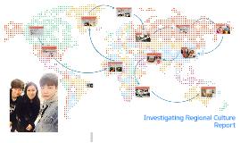 Investigating Regional Culture