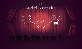 Macbeth Lesson Plan