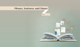 Phrases, Sentences, and Clauses