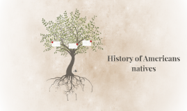 History of Americans natives