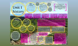 Unit 1 History
