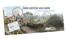 Como construir una ciudad