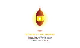 ISNA Lanterns Writers Meeting