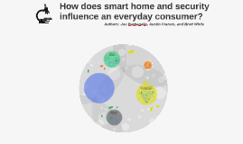 How does smart home and security influence an everyday consu