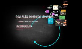 Copy of complex problem solving