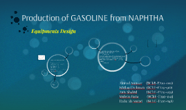 Production of GASOLINE From NAPHTHA