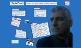 Chris Parry: What I do