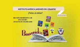 INSTITUTO AMÉRICA JARDINES DEL COUNTRY