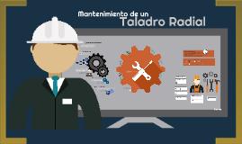 Copy of Mantenimiento Taladro Radial
