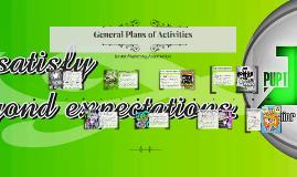 Copy of General Plans of Activities