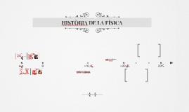 HISTÒRIA DE LA FÍSICA