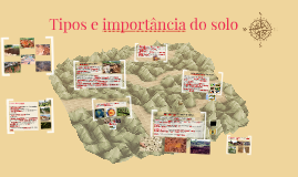Tipos e importância do solo