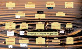 Physics 2 Mech - Unit 1 - Wave Properties