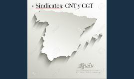 Sindicatos: CNT y CGT