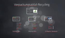 Verpackungsabfall-Recycling