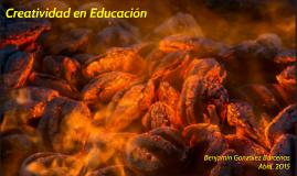 Creatividad en Educación