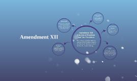 Amendment XII