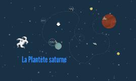 La Plantète saturne