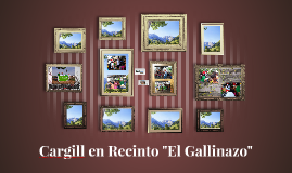 """Cargill en Recinto """"El Gallinazo"""""""