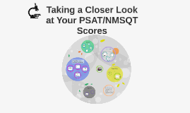 Taking a Closer Look @ the PSAT