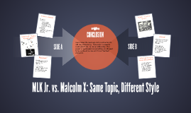 MLK Jr. vs. Malcolm X: Same Topic, Different Style