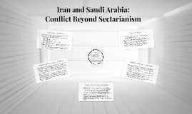 Iran and Saudi Arabia: Conflict Beyond Sectarianism
