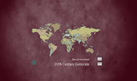 Copy of 20th Century Genocide