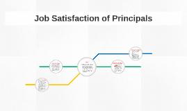 Copy of Job Satisfaction of High School Principals
