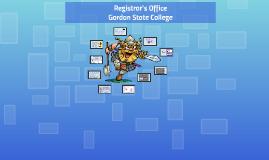 Registrar's Office- Fall 2017