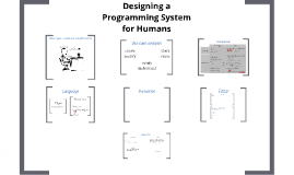 Designing a Programming System for Humans