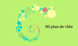 Mi plan de vida