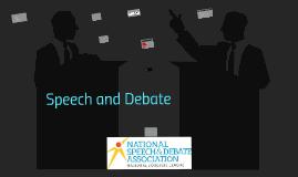 Copy of Speech & Debate Presentation