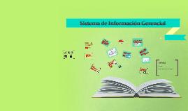 Copy of Copy of Sistema de Informacion Gerencial