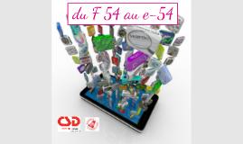 Présentation du projet e-54 CSD Liège public