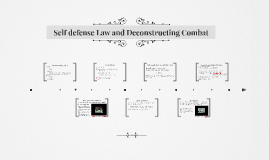 NEWBIE LECTURE 2: Self defense Law and Deconstructing Combat