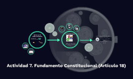 Actividad 7. Fundamento Constitucional (Artículo 18)