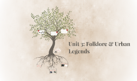 Unit 3: Folklore & Urban Legends