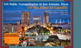 VIA Public Transportation in San Antonio, Texas