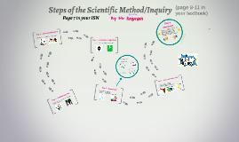Steps of the Scientific Method - 6th Grade