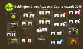 Goldington Green Academy- Sports Awards 2017