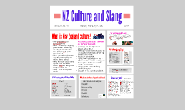 Nz Culture and Slang
