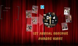 1st Annual GroupMe Award Night
