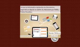 Acesso às informações registradas em documentos arquivísticos