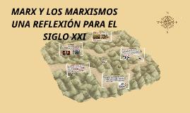 Marx y los marxismos