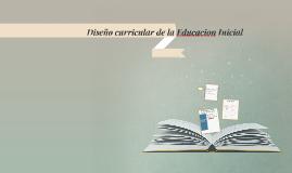 Diseño Curricular de la Educacion inicil