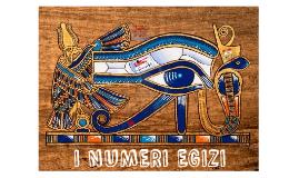 I NUMERI EGIZI