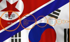 Hongersnood in Noord- en Zuid-Korea