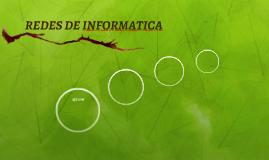 REDES DE INFORMATICA